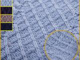 厂家直销  毛线面料大衣针织面料毛织服装提花布面料现货ZW436
