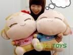 厂家直销生日礼物可爱卡通情侣悠嘻猴公仔毛绒玩具布娃娃批发定做