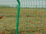 雙邊絲護欄網 框架隔離柵圍欄網 安全防護網高速公路鐵絲網