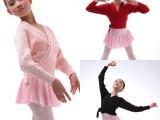 儿童舞蹈外套 女童长袖针织衫 舞蹈毛衣系带 舞蹈针织披肩 跳舞服