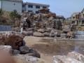 假山叠水 小区假山 假山水系 水泥假山塑石