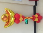 福州气球布置气球拱门氦气球空飘宝宝宴婚礼策划