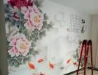 专业贴壁布壁画壁纸。
