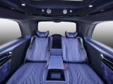 上海商务汽车内饰改装升级豪华航空座椅沙发床柚木地板