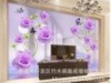 竹木纤维集成墙面护墙板 3D电视背景墙 简约大方 厂家订制