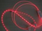 中山发光线数据线耳机线发光线透明丝