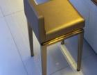 不锈钢珠宝椅,商场高档不锈钢吧椅