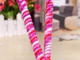 30克小麻花彩色螺旋棒棒糖婚礼品婚庆许愿糖生日礼物综合果味糖果