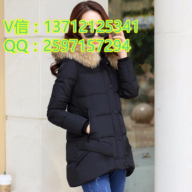冬季中长款学生宽松外套棉衣批发赶集特卖女式棉衣外套厂家直销