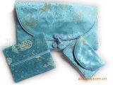 供应中国特色丝绸工艺包 三件套锦缎女士钱包