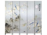 辽宁沈阳屏风厂家 中式 折叠 屏风隔断 古典 酒店办公用屏风