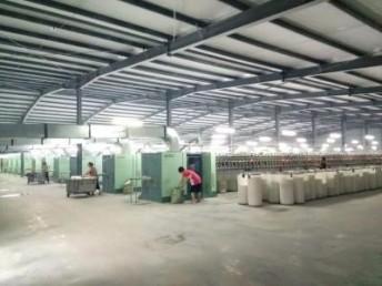 仿大化涤纶纱生产厂家-气流纺10支