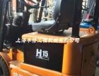 电瓶叉车 九成新合力1.5吨电动叉车二手2吨杭州4米电瓶叉车