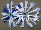 福龙马清洗车护栏刷 尼龙布刷丝混合片装护栏滚扫刷