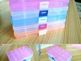 值!15格 透明塑料首饰盒小格子饰品收纳