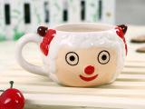 创意卡通陶瓷慕斯杯 提拉米苏陶瓷杯子蛋糕甜品杯 美羊羊慕斯杯