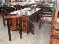 厂家直销 老船木家具 老船木功夫茶桌 古典茶台 泡茶桌椅组合