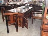 实惠的船木茶桌椅组合,老船木茶批发