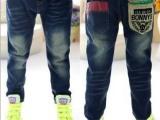 2014春季韩版童装牛仔童裤 新款儿童休闲长裤男童长裤子批发