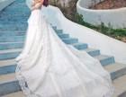 那一件薄薄的婚纱,承载着我们许多的梦想和希望