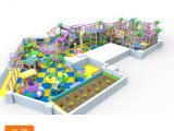 大型儿童游乐园  卡通糖果屋 孩子们的游