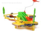 极速电动汽车轨道车赛车飙车 儿童托马斯轨道火车玩具套装