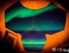 57美国网 全球首例,180度玻璃穹顶浪漫极光之旅!
