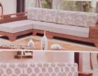 广州简约中式客厅实木沙发家装高档实木家具厂家直销