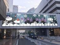 北京玻璃贴 透明贴 超透贴 可以异型裁切高清喷印安装