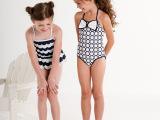 新款儿童泳衣女童可爱女孩连体泳衣学生中小