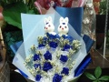 10年花艺服务,良好的口碑,七夕提供配送各种鲜花等