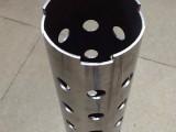 激光切管加工碳钢圆管激光开孔激光割缝激光开槽厂家