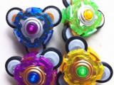 新款三轮惯性陀螺 防摔高速多向旋转儿童玩