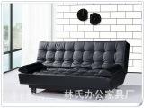 宜家仿真皮1.8米多功能单人折叠沙发床 1.2米双人沙发折叠床1.5床