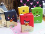 T 愤怒的小鸟卡包 银行卡防磁化卡包 16卡位证件卡夹 卡通卡包