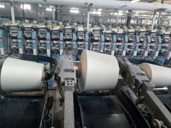 仿大化纯涤纱,环锭纺21-47支,气流纺5支-23支