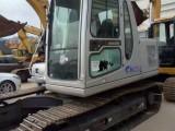 超品车况,海关进口,银白酷炫外表的小松120-6EO挖掘机