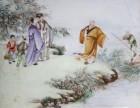 王锡良瓷板画现在的市场价值多少钱
