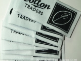 厂家订做 高档外贸服装商标 织唛 主标 渐变颜色领标 价低货期快