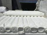 厂家直销 高密化纤胚布 全涤磨毛平纹胚布 白色窗帘胚布280cm