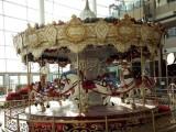 儿童游乐园旋转木马厂家 大型游乐场地豪华旋转木马