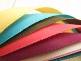 10mm单面丝带 手工缎带 涤纶带 DIY发饰材料蝴蝶结 织带混
