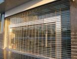 南山加强型防盗抗锈电动不锈钢卷闸门网型门通化网格门