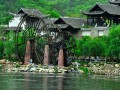 黄陂锦里沟户外休闲拓展,武汉周边景色漂亮的好地方