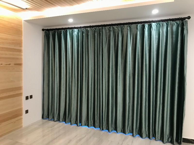 三间房窗帘定做双桥定做窗帘遮光帘安装窗帘小能手