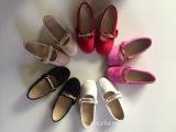长期供应新款外贸真皮绒面童鞋单鞋,厂家直销,外贸工厂质量保证