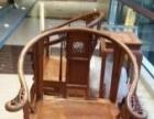精美完整越南黄花梨圈椅一套低价出