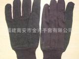pvc迷你咖啡绒手套滴塑咖啡绒手套劳保手套