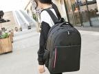 双肩旅行电脑背包男包 商务休闲书包大中学生双肩包女韩版潮