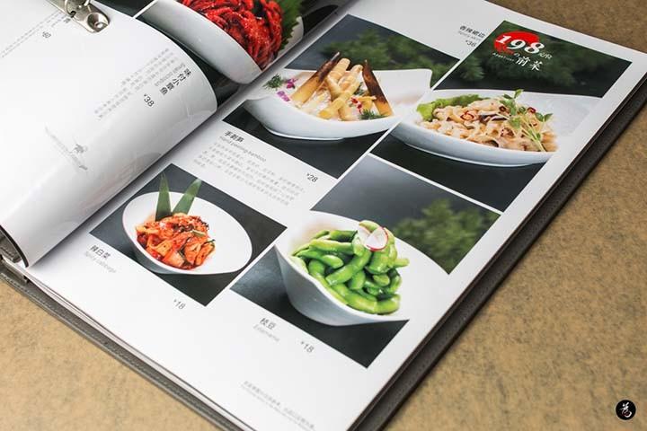 北京专业日餐拍照菜谱制作菜谱设计加工